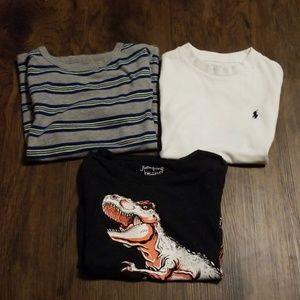 Boys 5-6 t-shirt bundle
